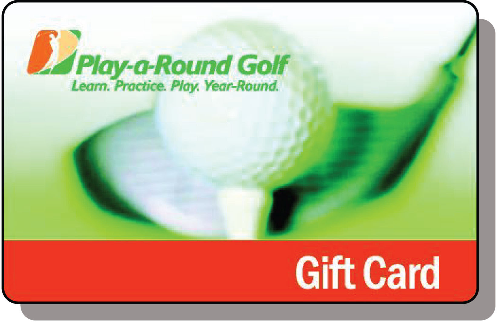 gift card for play a round golf